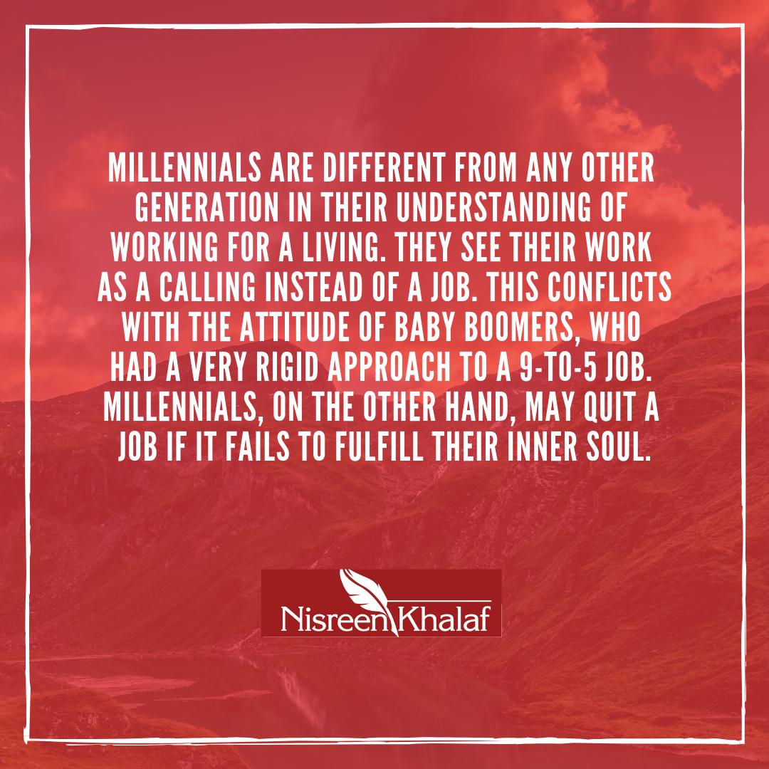 millennials, generations, baby boomers, generation x, work, workforce